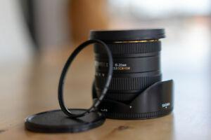 Sigma 10-20mm 3.5. Nikon