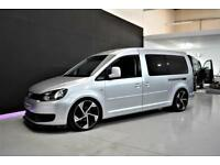 VOLKSWAGEN CADDY MAXI DAY VAN 1.6TDI 102PS C20 AIR-CON CRUISE CARPET WINDOWS 47K