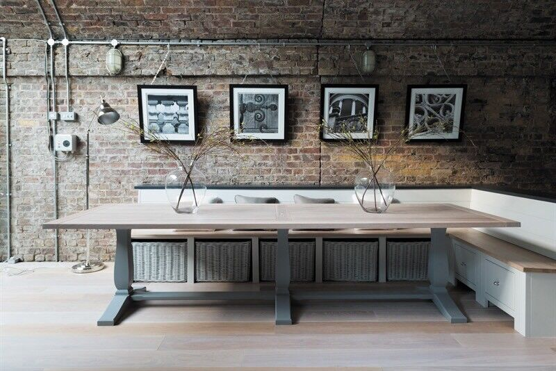 Neptune Brand Harrogate 12 Seater Dining Table Almost NEW
