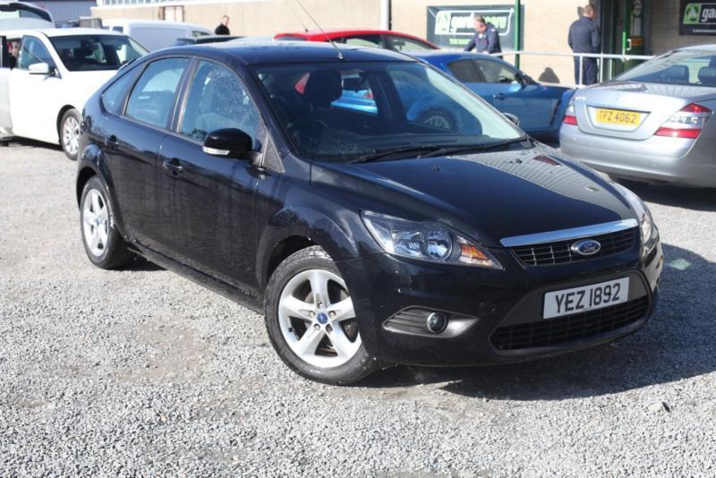 2009 ford focus 16 zetec black long mot 2017 platinum warranty