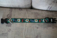 Like NEW Floral Dog Collar