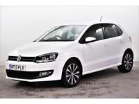 2013 Volkswagen Polo MATCH EDITION Petrol white Manual