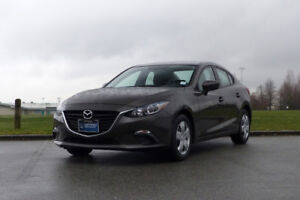 2016 Mazda3 **LOW KM**POWER WINDOWS/MIRRORS**CLEAN TITLE**