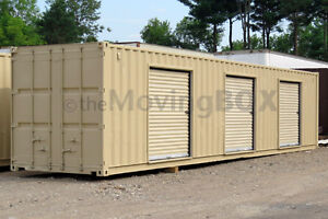 New and Used 20' and 40' Shipping Containers, great for Portabl