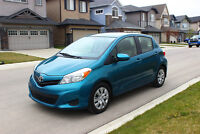 2012 Toyota Yaris LE Hatchback Moving Sale Cheap