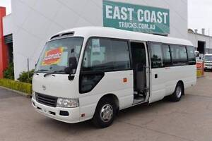 TOYOTA COASTER DELUXE ** CHARTER ** LOW KLMS ** #4776 Archerfield Brisbane South West Preview