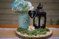 Affordable rustic wedding decor for rent