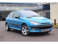 2002 Peugeot 206 1.6 GLX 5dr (a/c)