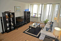 BEAUTIFUL FURNISHED DOWNTOWN 1 BEDROOM,