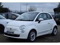 FIAT 500 1.2 SE LONDON EDITION, AIR CON, RED LEATHER PACKAGE,