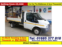 2011 - 61 - FORD TRANSIT T350 2.4TDCI 115PS RWD SINGLE CAB TIPPER (GUIDE PRICE)