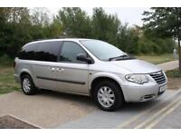 LHD LEFT HAND DRIVE Chrysler Grand Voyager 2.8CRD AUTO Executive 7 SEATER DVD