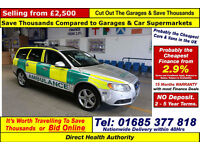 2009 - 59 - VOLVO V70 S D5 2.4 RAPID RESPONSE VEHICLE 5 DOOR ESTATE (GUIDE PRICE