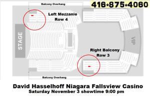 David Hasselhoff Niagara Fallsview Casino