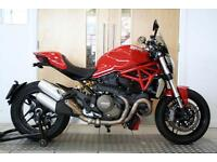 2015 Ducati Monster 1200 ABS Red Only 737 Miles 1 Private Owner