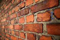 Red Seal Bricklayer available, FREE ESTIMATES