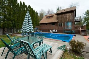 OUTSTANDING WATERFRONT! LARGE HOME WITH POOL!