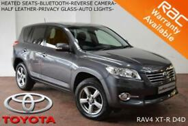 2012 Toyota RAV4 2.2D-4D (150bhp) (AWD) XT-R-CAMERA-B.TOOTH-HEATED SEATS-CRUISE-
