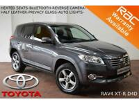 2012 Toyota RAV4 2.2D-4D (150bhp) (AWD) XT-R-CAMERA-B.TOOTH-HEATED SEATS-CRUISE-