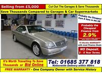 1997 - R - MERCEDES CL600 V12 6.0 PETROL AUTOMATIC COUPE (GUIDE PRICE)