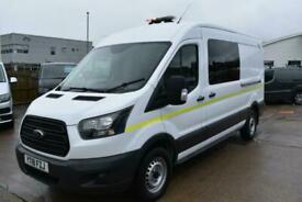 2018 Ford Transit 350 L3 H2 WELFARE UTILITY 7 SEATS TOILET VAN EURO 6 Specialist