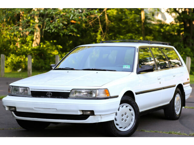 Toyota : Camry Wagon Low Mi 1991 Toyota Camry Wagon Rare Clean SUPER LOW MILES 63K Reliable Clean Garaged