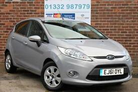 Ford Fiesta 1.6 TDCi 95ps ECOnetic Titanium Manual Diesel 5Door Hatchback Silver