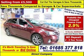 2014 - 14 - TOYOTA AVENSIS ICON 2.0D-4D 5 DOOR ESTATE (GUIDE PRICE)