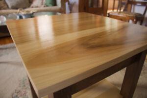 New custom built end table