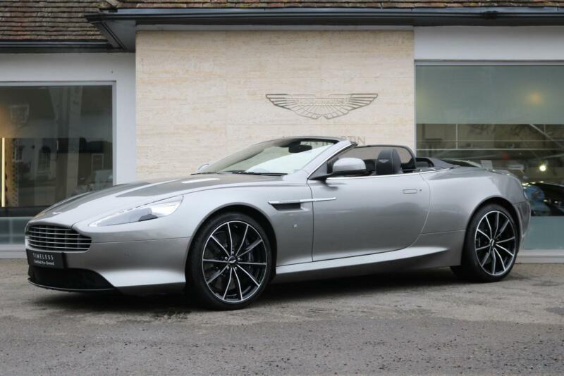 2017 Aston Martin Db9 V12 Gt 2dr Volante Touchtronic Automatic Petrol Convertibl