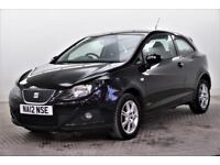 2012 SEAT Ibiza CR TDI ECOMOTIVE S AC Diesel black Manual
