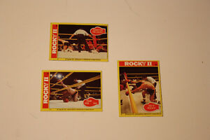 Rocky Balboa 1979 collectible cards