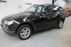 2006 56Reg BMW X3 2.0dSE in Black
