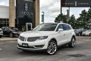 2016 Lincoln MKX Reserve  - Leather Seats -  Cooled Seats - $156