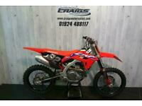 Honda CRF 450 R 2021 MX BIKE WITH 2 HOURS USE AT CRAIGS MOTORCYCLES