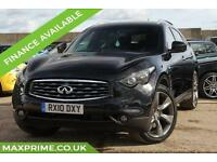 INFINITI FX 5.0 V8 400BHP AWD PREMIUM S - HEATED + COOL FUNCTION LEATHER SEATS