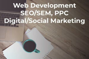 Websites, SEO, PPC and Social Marketing
