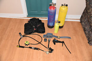 Scuba Equipment $400 or will sell individually