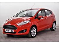 2015 Ford Fiesta TITANIUM Petrol red Manual