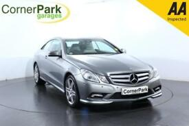2010 MERCEDES E-CLASS E350 CDI BLUEEFFICIENCY SPORT COUPE DIESEL