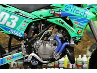 2018 KAWASAKI KX 85 MOTOCROSS BIKE FMF EXHAUST, RENTHAL HANDLEBARS, NEW GRIPS