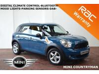 OCT 2011 Mini Mini Countryman 1.6 (Salt) One-DAB-PARK SENSORS-B.TOOTH-F.S.H.