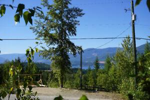 1.24 acre lot Eagle Bay