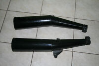 Honda Interceptor 500 exhaust pipes tail pipes OEM Great shape