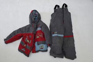 Snow suit - Ensemble de neige Souris mini Rouge