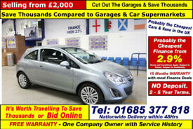2013 - 13 - VAUXHALL CORSA ENERGY 1.3 PETROL 3 DOOR HATCHBACK (GUIDE PRICE)