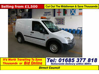 2007 - 57 - FORD TRANSIT CONNECT L200 L75 1.8TDCI VAN (GUIDE PRICE)