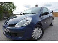 RENAULT CLIO EXPRESSION 1.2 3 DOOR*ONE OWNER*LOW MILEAGE*ONLY 60K MILES*HISTORY*