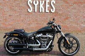 NEW 2021 Harley-Davidson FXBRS Softail Breakout in Vivid Black
