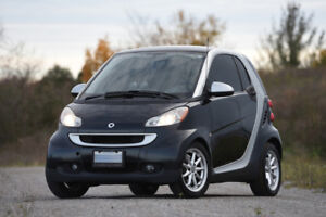 2009 Smart ForTwo Passion with winter tires on rims